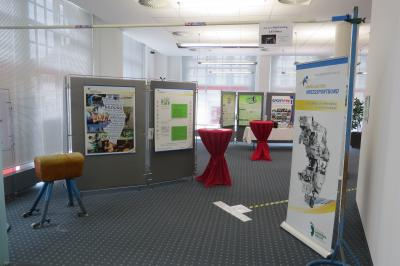 Eingang zur Ausstellung