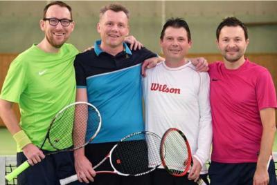 Foto zur Meldung: Tennis - Herren 40 - Meistertitel in der Staffelliga