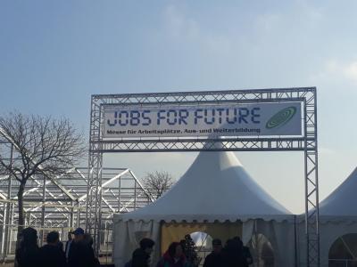 """Vorschaubild zur Meldung: 10. Klasse bei """"Jobs for Future"""""""
