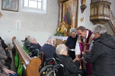 Foto zur Meldung: Krankensalbungsgottesdienst mit Seniorentreff