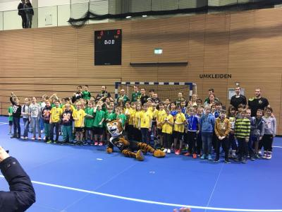 Vorschaubild zur Meldung: Erster Grundschultag-Spieltag in Dresden