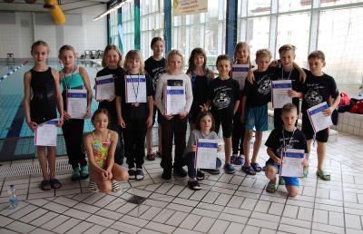 Foto zur Meldung: Schwimmen Lausitzer Mehrkämpfer in Spremberg
