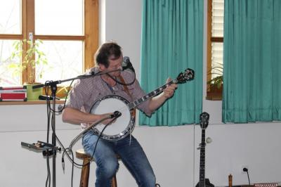 Foto zur Meldung: Hubert Dohr, ein musikalischer Tausendsassa