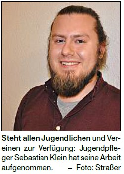 Vorschaubild zur Meldung: Sebastian Klein ist neuer Gemeindejugendpfleger