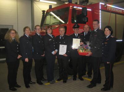 Vorschaubild zur Meldung: Feuerwehr Kirchseelte stärker gefordert als bisher
