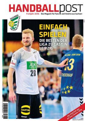 Vorschaubild zur Meldung: Frühjahrsausgabe der Handballpost ab 16. März im Handel