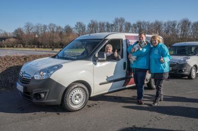 Tierhilfe Auto für den TSV Pirna
