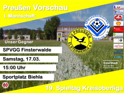 Vorschaubild zur Meldung: +++ 19. Spieltag Kreisoberliga +++