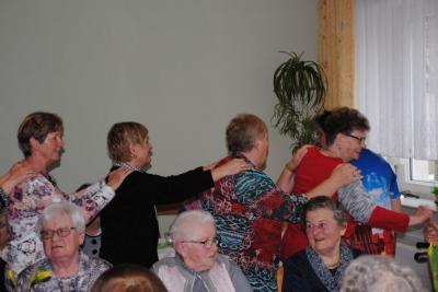 Vorschaubild zur Meldung: Frauentagsfeier in der AWO Begegnungsstätte in Perleberg