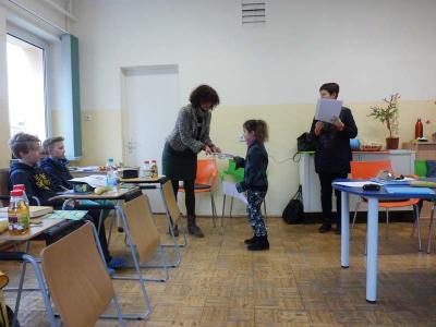Vorschaubild zur Meldung: Englischolympiade an der Grundschule Nennhausen