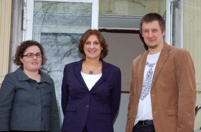 Foto zur Meldung: Ministerin Ernst besucht die Villa