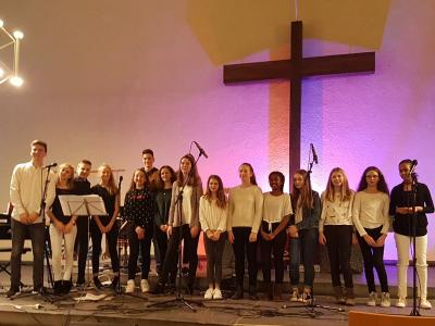 Jugendband und Jugendchor