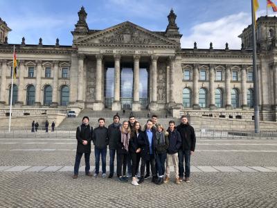 Foto zur Meldung: Politische Bildungsfahrt Berlin vom 22.2 bis zum 23.2.18