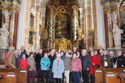 Foto zur Meldung: Frühjahrsausflug der Senioren ins Donautal