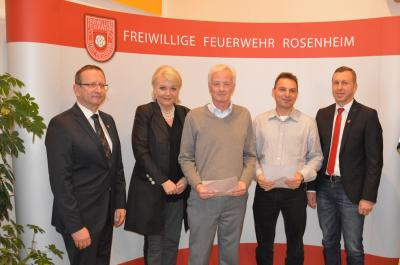 Vorschaubild zur Meldung: Jahreshauptversammlung der Freiw. Feuerwehr Rosenheim