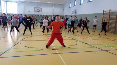 """Vorschaubild zur Meldung: Fitness- und Gesundheitstag am OSZ """"Alfred Flakowski"""""""