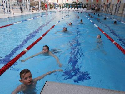 Foto zur Meldung: Erfolgreicher Schwimmkurs
