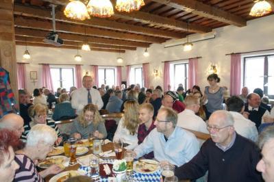 Foto zur Meldung: Das 12. Starkbierfest war wieder gut besucht