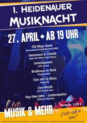 Foto zur Meldung: Heidenauer Musiknacht