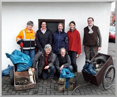 Foto zur Meldung: Zur Müllsammelaktion am 10.03.2018
