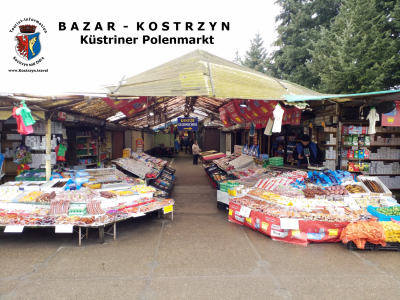Foto zu Meldung: Polenmarkt in Küstrin (Kostrzyn nad Odrą) trotzt den neuen Ladenschlußzeiten