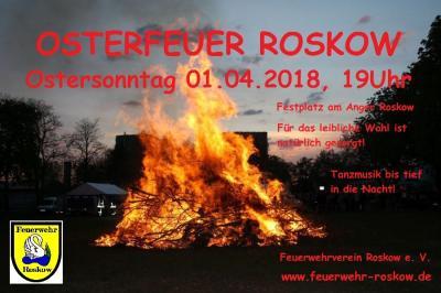 Foto zu Meldung: OSTERFEUER ROSKOW