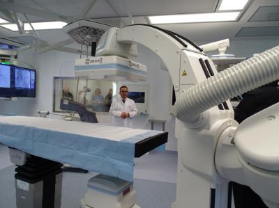 Vorschaubild zur Meldung: Neuer Hybrid-OP im Klinikum Obergöltzsch übergeben