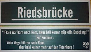 """Foto zu Meldung: Pressemitteilung """"Riedsbrücke"""""""