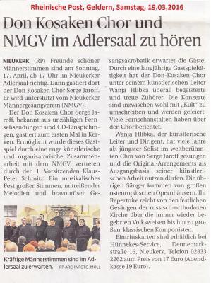 Vorschaubild zur Meldung: Der NMGV präsentiert: Den Don Kosaken Chor Serge Jaroff
