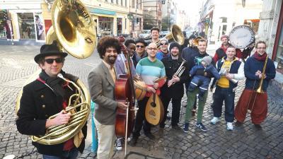 Foto zu Meldung: Ausländerrat Dresden e. V. ist Projektträger der Banda Internationale