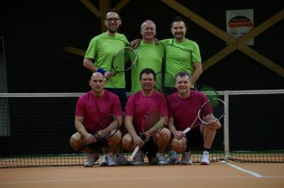 Foto zur Meldung: Tennis Herren 40 / Finalspiel gewonnen