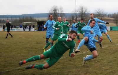 Foto zu Meldung: Bezirksliga: FC Vorwärts - FC Eintracht Münchberg 1:0 (0:0)