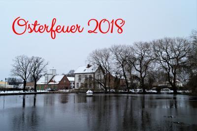 Foto zur Meldung: Osterfeuer 2018