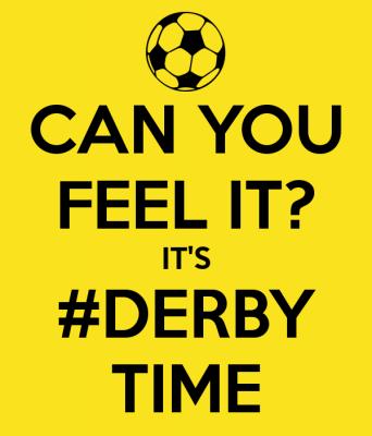 Vorschaubild zur Meldung: Derby für die ersteMannschaft