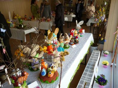 Foto zur Meldung: Osterausstellung