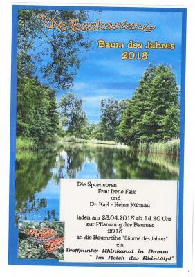 Vorschaubild zur Meldung: Pflanzung Baum des Jahres in Zootzen