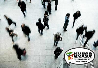 Foto zur Meldung: Skaten, rollern, radeln!? Zum Auftakt: Fußgänger