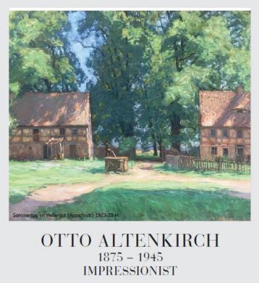 Vorschaubild zur Meldung: Otto Altenkirch - Ausstellung in Dresden
