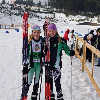 Foto zur Meldung: Thüriner Meisterschaften Team-Sprint