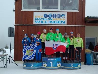 Foto zur Meldung: Deutsche Jugend/Junioren Meisterschaft Biathlon