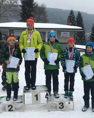 Foto zur Meldung: Thüringer Meisterschaft Biathlon Massenstart