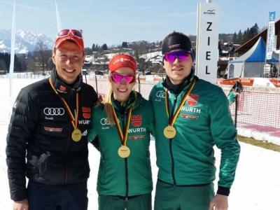 Foto zur Meldung: Deutsche Meisterschaften Langlauf / Vereinspokal