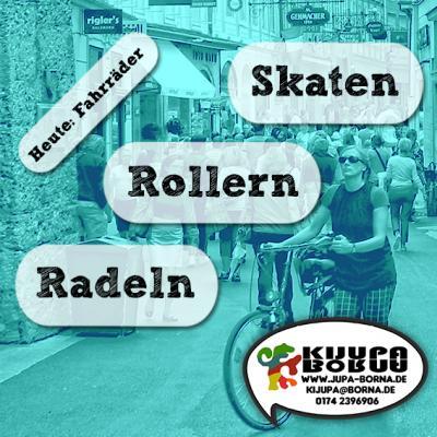 Foto zur Meldung: Skaten, rollern, radeln!? #2