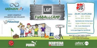 Vorschaubild zur Meldung: Fußballcamp vom 20.04.-22.04.2018