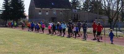 Foto zur Meldung: 6. Lauf  Paarlaufserie 2017/18 mit Abschlussveranstaltung