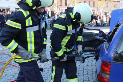 Foto zur Meldung: Osterübung der Freiwilligen Feuerwehr