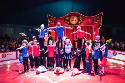 Vorschaubild zur Meldung: Zirkus- Projektwoche