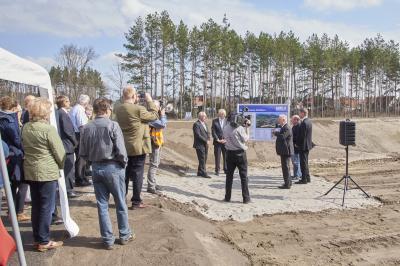 Vorschaubild zur Meldung: Südgraben Altdöbern wurde eingeweiht
