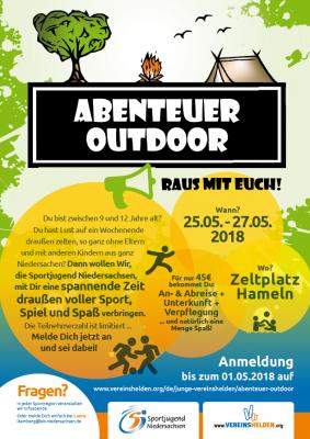 Foto zu Meldung: Abenteuer Outdoor !!!