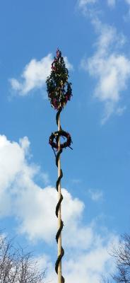 Vorschaubild zur Meldung: Maibaumstellen und Maifeiern in unseren Orten